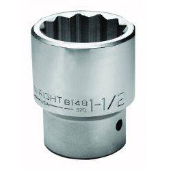"Wright Tool - 8144 - 1-3/8"" 1""dr 12-pt. Standard Socket, Ea"