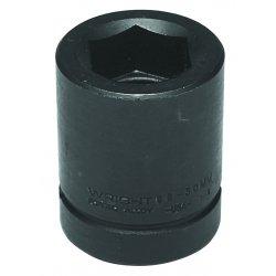 "Wright Tool - 88-50MM - 50mm 1"" Drive Standard Metric Impact Socket 6pt., Ea"