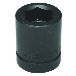 "Wright Tool - 88-65MM - 65mm 1"" Drive Standard Metric Impact Socket 6pt."