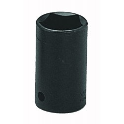 "Wright Tool - 9076 - Wright Tool 1/2"" X 13/16"" Black Alloy Steel 5 Point Penta Socket"