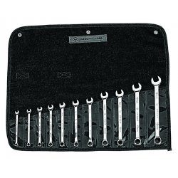 Wright Tool - 950 - 11-pc. Metric Combination Wrench Set 7mm-19mm 12