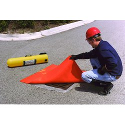 Ultratech - 2126 - Spill Accessory Ultra Drainseal Orange Urethane 18X18 5 Lb. Ultratech Intl., EA
