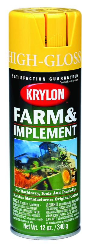 Krylon - K01805 - 16-oz. New Caterpillar Yellow Int/ext. In at Sears.com