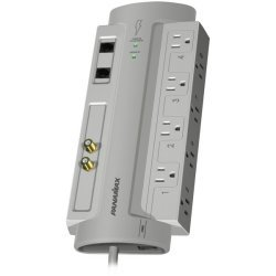 Panamax - SP8-AV - 8 outlet surge protector, coax, tel
