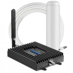 Cellphone-Mate / Surecall - SC-POLYH-72-ORA-KIT - SureCall Fusion4Home Cell Phone Signal Booster Kit for All-Carrier 3G / 4G LTE Signals for 1 - 2 Rooms of Coverage