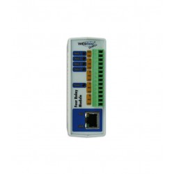 2N Telecommunications - 9137411E - External IP Relay - 4 outputs, 0 input, PoE
