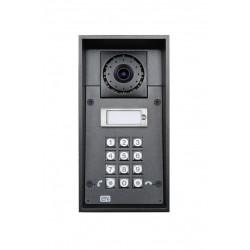 2N Telecommunications - 9151101CKW - 2N Helios IP Force - 1 button + camera + keypad + 10W speaker