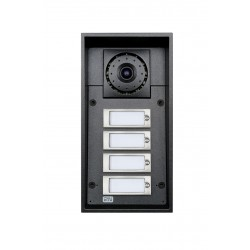 2N Telecommunications - 9151104CW - Helios IP Force - 4 button & camera + 10W