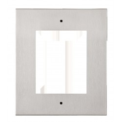 2N Telecommunications - 9155011 - flush installation frame for 1 module (must be together with 9155014)