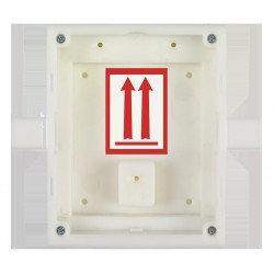 2N Telecommunications - 9155014 - 2N Helios IP Verso - flush mount installation box for 1 module (must be with 9155011)
