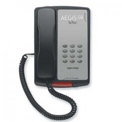 Cetis - P-08BK - 80002 Aegis Single Line Phone