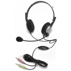 Andrea Communications - NC185VM - Noise Canceling Stereo Headset with Volu