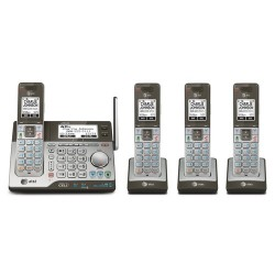AT&T / VTech - CLP99486 - AT&T CLP99486 DECT 6.0 1.93 GHz Cordless Phone - Cordless - 1 x Phone Line - Speakerphone - Answering Machine