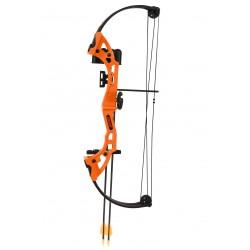 Bear Archery - BA-AYS300TR - Brave in Flo Orange w/ Biscuit, RH