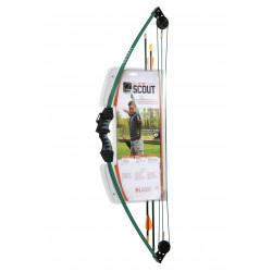 Bear Archery - BA-AYS6000 - Scout Bow Set Hunter Green