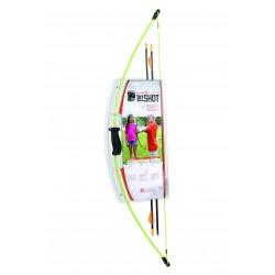 Bear Archery - BA-AYS6200GR - 1st Shot Bow Set Flo Green