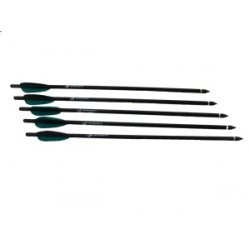 Barnett Crossbows - 16107 - 5 pack 18in Easton Arrows w/ Field Point