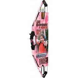 Barnett Crossbows - 1072P - Barnett Lil Banshee Jr. Pink Archery Set