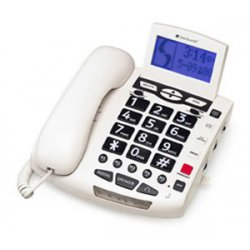 ClearSounds - WCSC600 - ClearSounds WCSC600 Standard Phone - Corded - 1 x Phone Line - Speakerphone - Hearing Aid Compatible - Backlight