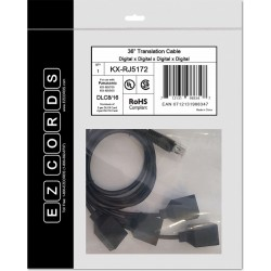 Ezcords - KX-RJ5172 - DLC8/16 NS700 Translation Cable