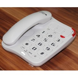 Future-Call - 1001W - 40dB Picture Phone White