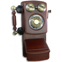 Golden Eagle - GOLD-GEE-8705D - Golden Eagle GOLD-GEE-8705D Standard Phone - Mahogany - Corded - 1 x Phone Line