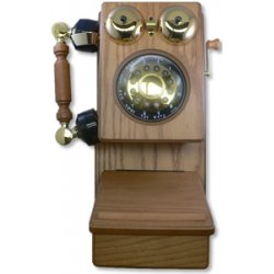 Golden Eagle - GO-8705K - Country Wood Phone OAK