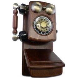 Golden Eagle - GO-8705W - Country Wood Phone WALNUT