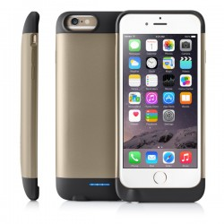 iBattz - RV6-GLD-V1 - 3200mAh Battery Case ip6/6S -GOLD