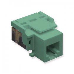 ICC - CAT3JK-6-GN - IC1076V0GN Cat3 Jck 6 Con. Green