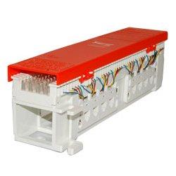 ICC - IC06628P8C - ICC 66 Wiring Block, 12-Jacks, 8P8C - 12 x RJ-45 - 12 Port(s) - 12 x RJ-45 - 12 x RJ-11