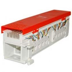 ICC - IC06686P6C - ICC 66 Wiring Block, 8-Jacks, 6P6C - 8 x RJ-11 - 8 Port(s) - 8 x RJ-11 - Wall Mountable