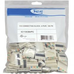 ICC - IC110CB4PC - 110 Connecting Block, 4-Pair, 100 PK