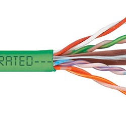 ICC - ICCABP6VGN - Cat 6, 500 UTP, Solid Cable, 23G, 4P, CMP, Green