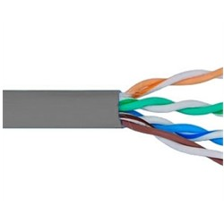 ICC - ICCABR6VGY - Cat 6, 500 UTP, Solid Cable, 23G, 4P, CMR, 1, 000 FT, Grey