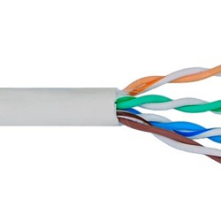 ICC - ICCABR6VWH - Cat 6, 500 UTP, Solid Cable, 23G, 4P, CMR, 1, 000 FT, White
