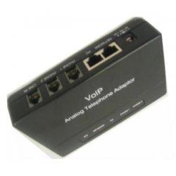 Cortelco - ITT-8212 - Cortelco VoIP Gateway - 2 x RJ-45 - 3 x FXO - Management Port