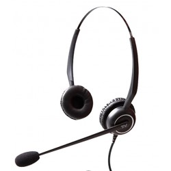 Cortelco - VT5000UNC-D - Binaural Headset with Noise Cancelling