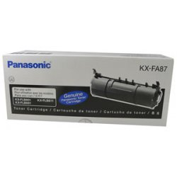 Panasonic - KXFA87 - Panasonic Black Toner Cartridge - Black - Laser - 2500 Page - 1 Each