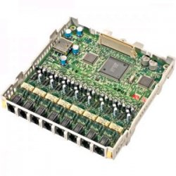 Panasonic - KX-TAW84874 - Panasonic 8-Port Single Line Card (SLC8) - 8 x Phone Line (RJ-11)