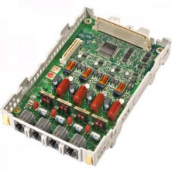 Panasonic - KXTAW84880 - Panasonic 4-port Loop Start Co Card