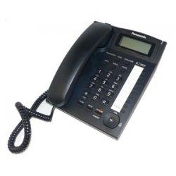 Panasonic - KX-TS880B - Panasonic KX-TS880-B Standard Phone - Corded - Speakerphone