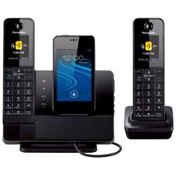 Panasonic - KX-PRD262B - Panasonic KX-PRD262B DECT 6.0 1.90 GHz Cordless Phone - Black - Cordless - 1 x Phone Line - 1 x Handset - Speakerphone - Answering Machine - Backlight