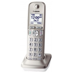 Panasonic - KX-TGDA20N - Plastic Handset, Gold; For Corded or Cordless Land Line Phones