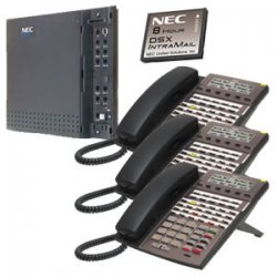 NEC - 1091026 - KIT DSX40 and IntraMail and 3 34B Phones