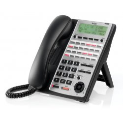 NEC - 1100063 - NEC SL1100 24-Button Full-Duplex Telephone (Black)