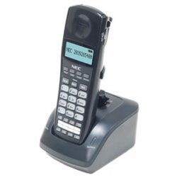 NEC - 730095 - NEC Dterm DTL-8R-1 Cordless Handset - Cordless - Headset Port - 16 Hour Battery Talk Time - Wall Mountable, Desktop