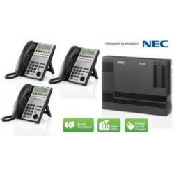 NEC - 1100001 - Sl1100 Basic Kit W/ 3 Phones