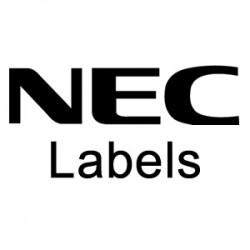 NEC - 80650-DSS - 110-Button DSS Labels (10 pk)