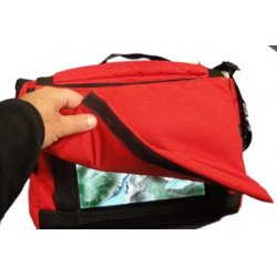 Nimbustote - NimbusTote-201 - Salero Carrying Case (Tote) for iPad - Red - Vinyl - Hand Carry